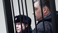 Экс-директор фабрики Меньшевик Илья Аверьянов, обвиняемый в убийстве. Архивное фото