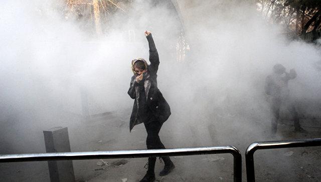 В Иране за три дня задержали около 450 протестующих