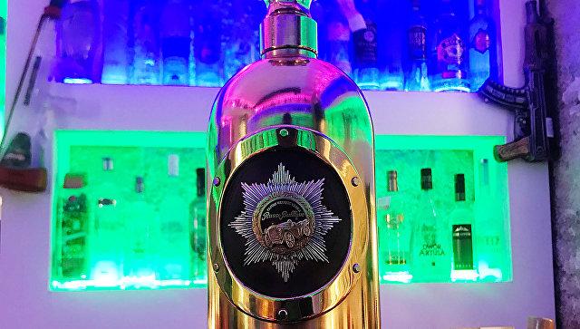 В Копенгагене нашли пустой самую дорогую в мире бутылку водки