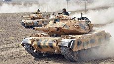 Маневры турецкой армии у южных границ страны. Архивное фото
