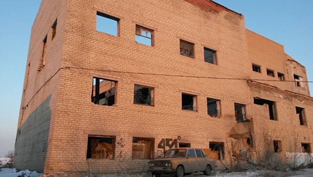 Частичное обрушение кровли в здания в Копейске Челябинской области. 12 января 2018