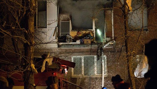 Самолет МЧС вылетел в Москву с тремя пострадавшими при взрыве газа в Омске