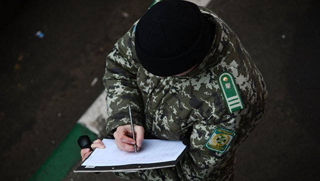 Украинские пограничники сообщили об обстреле своего пункта в Донбассе