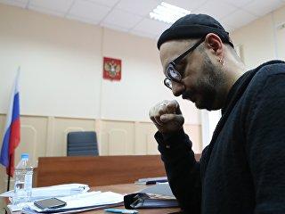Кирилл Серебренников в Басманном суде Москвы. 16 января 2018