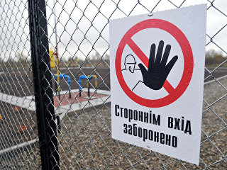 Газовая станция в Львовской области Украины. Архивное фото