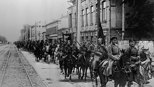 Красная Армия. Архивное фото