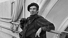 Работа фотографа Валентина Барановского, участвующая в выставке Рудольф Нуреев. Последний визит