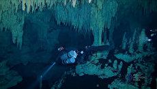 Самая большая в мире затопленная пещера. Подводная съемка