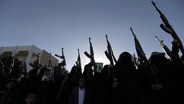 Вооруженные женщины в столице Йемена Сане. Архивное фото
