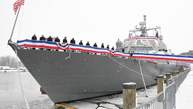 Судно USS Little Rock, Нью-Йорк
