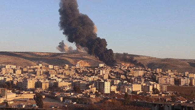 Оливковая ветвь против сирийских курдов: Турция начала военную операцию в Африне