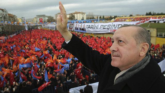 Эрдоган рассказал, когда турецкие военные уйдут из Сирии