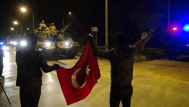 Курды призвали Россию остановить турецкую военную операцию в Африне