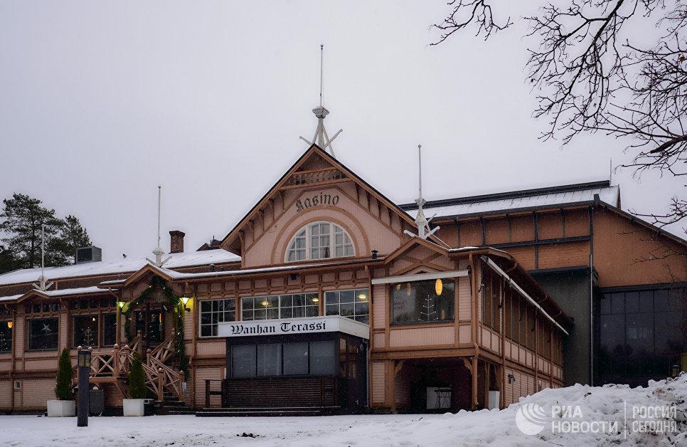 Старейшее казино в городе Савонлинна
