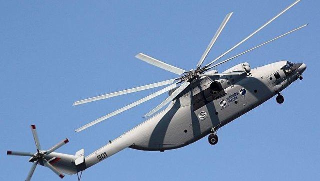 ВВС Иордании приняли вэксплуатацию 1-ый  тяжелый вертолет Ми-26T2