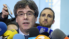 Экс-председатель каталонского правительства Карлес Пучдемон. Архивное фото