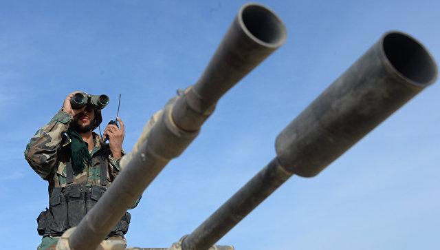Боей сирийской армии. Архивное фото