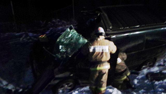 Микроавтобус столкнулся с фургоном под Тулой, есть жертвы ипострадавшие
