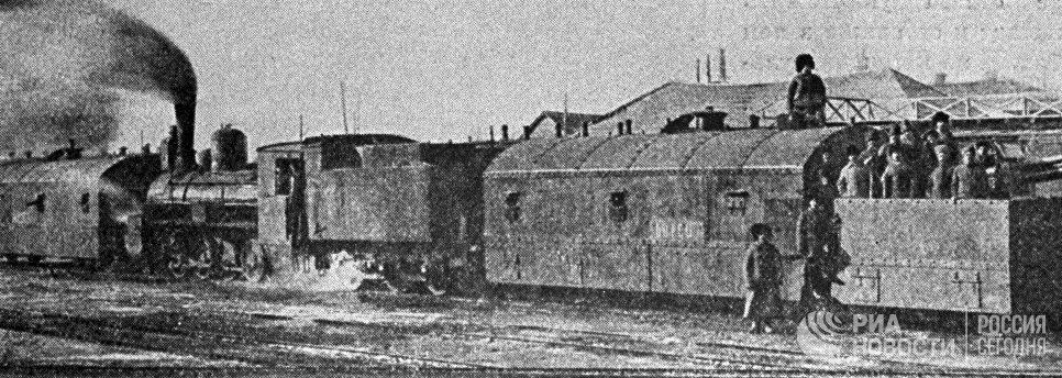 Бронепоезд Красной Армии Борец, действовавший на царицынском фронте