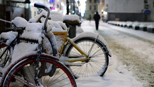 В столице  снегопад сменится 12-градусными морозами