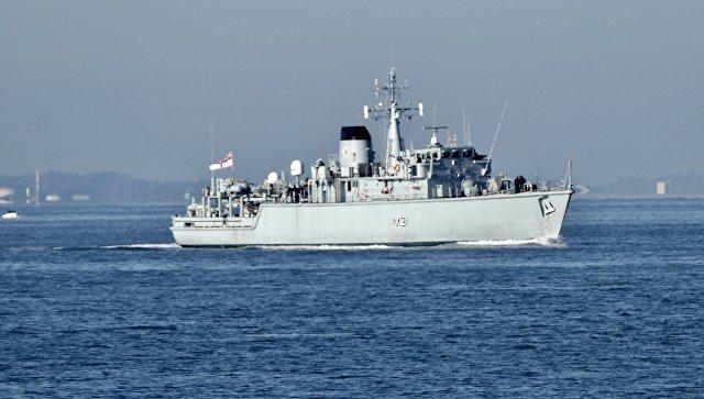 Противоминный корабль Cattistock. Архивное фото