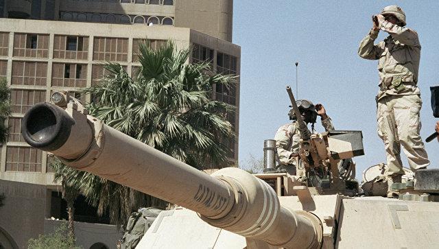 армия пиндосов в Ираке