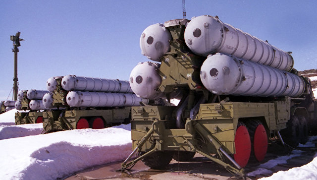 ЗРК С-300, архивное фото