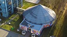 Здание Упсала-цирка в Санкт-Петербурге. Скриншот