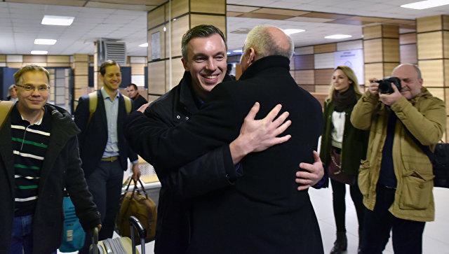 Визит немецких региональных депутатов в Крым. 3 февраля 2018