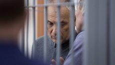 Бывший губернатор Сахалинской области Александр Хорошавин во время оглашения приговора в Южно-Сахалинском городском суде. 6 февраля 2018
