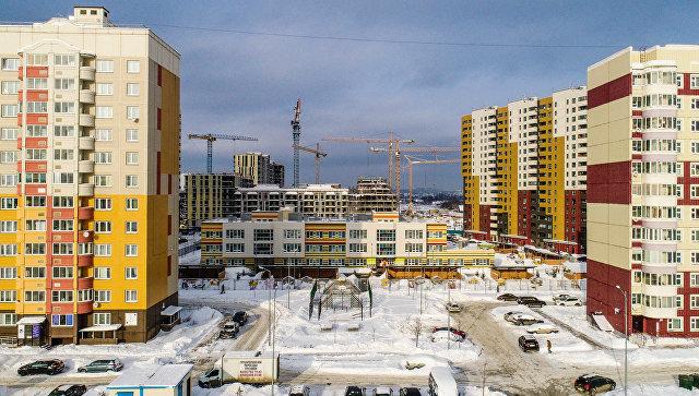 Дома ЖК Новые Ватутинки на территории Новой Москвы вдоль Калужского шоссе