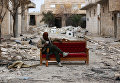 Солдат свободной сирийской армии в пригороде города Альба