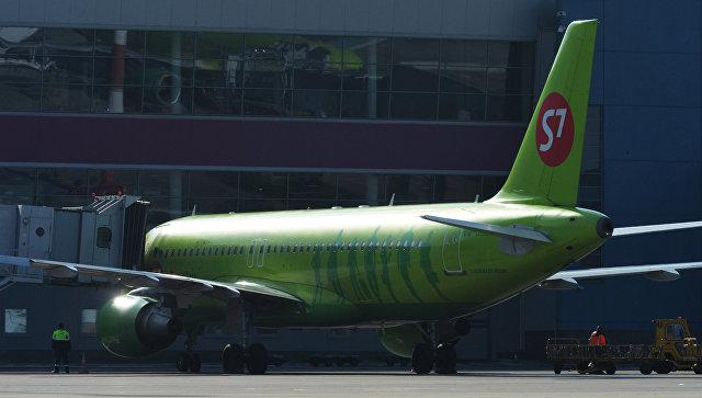 Самолеты Airbus A320 авиакомпании S7 Airlines. Архивное фото