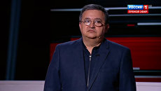 Скриншот передачи Вечер с Владимиром Соловьевым, вышедшей на канале Россия 1