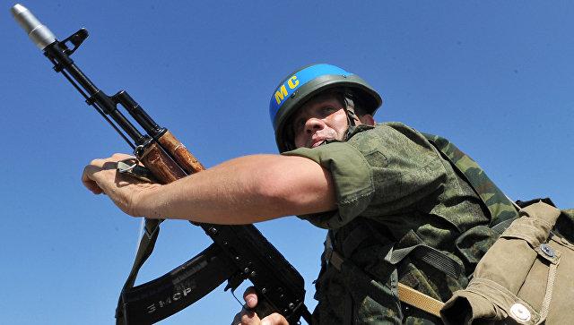 Российский миротворец в Приднестровье. Архивное фото