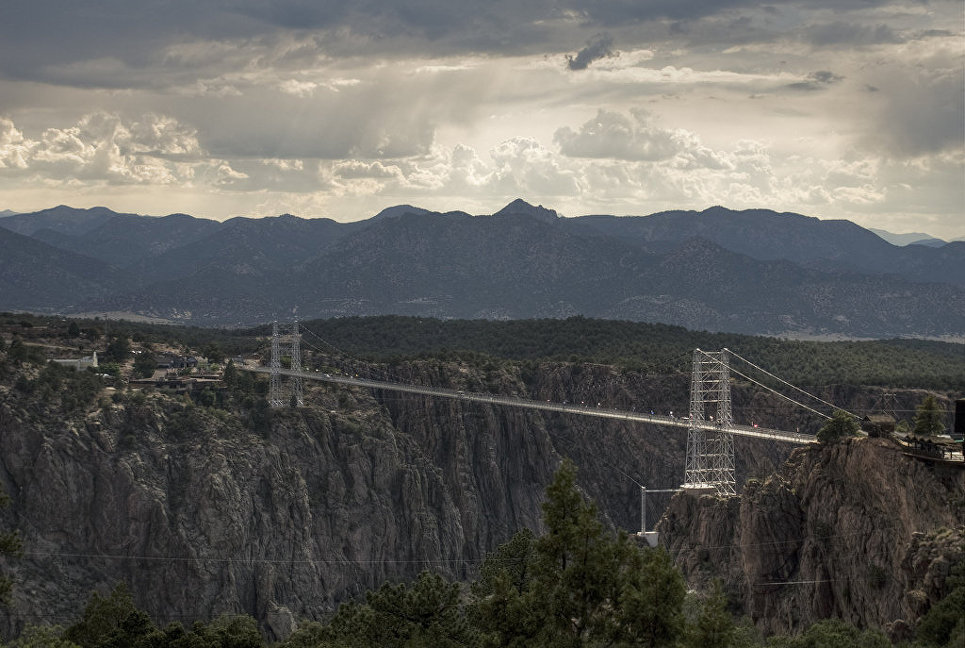 Мост Royal Gorge, США