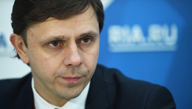 Временно исполняющий обязанности губернатора Орловской области Андрей Клычков