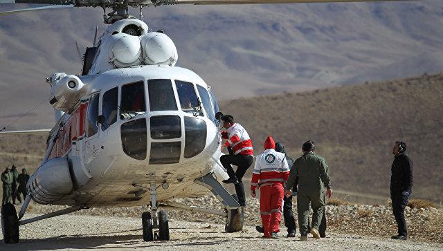 КСИР сообщил о нахождении обломков иранского самолета