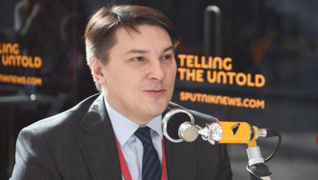 Заместитель министра финансов РФ Илья Трунин во время интервью на Российском инвестиционном форуме в Сочи