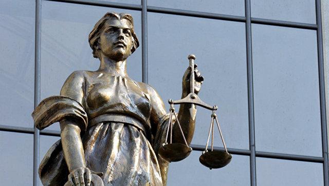 Статуя древнегреческой богини правосудия Фемиды на фасаде здания Верховного суда РФ. Архивное фото
