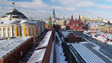 Московский кремль и Красная площадь. Архивное фото