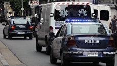 Машины полиции и скорой помощи. Архивное фото