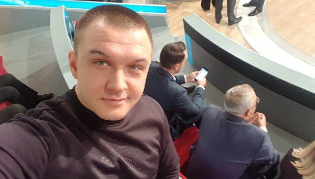 Польский журналист Томаш Мацейчук. Архивное фото