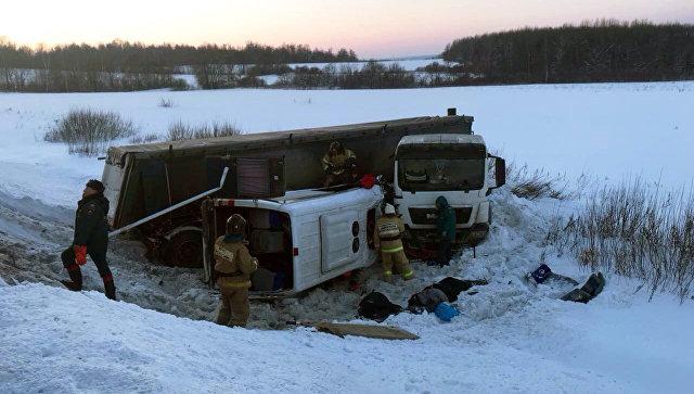 Шофёр разбившегося попути вШерегеш автобуса признал свою вину