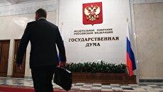 В здании Госдумы России. Архивное фото