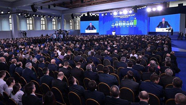 Часть инициатив из послания Путина войдут в основу новых проектов ЕР