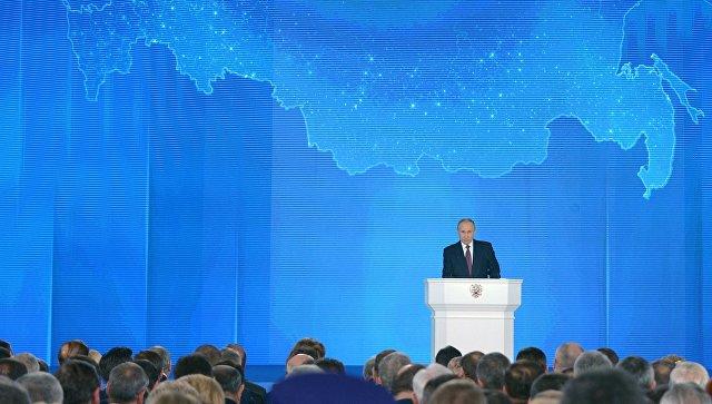Молдавский телеканал оштрафовали из-за показа послания Путина
