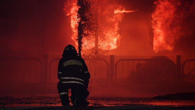 В Волгограде при пожаре в частном доме погибли двое детей