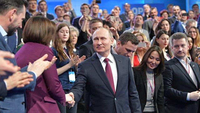 Путин признался, что вновогодние ночи смотрит обращение президента