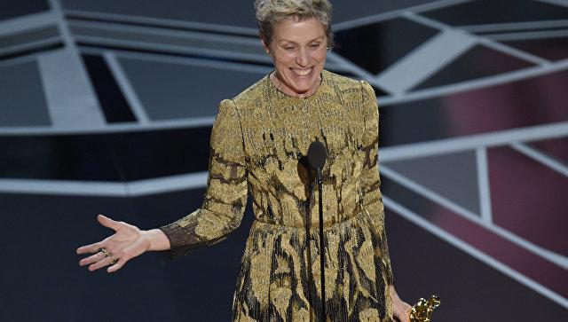 Улучшей артистки года украли статуэтку «Оскар»